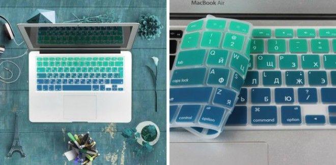Силиконовая накладка на клавиатуру