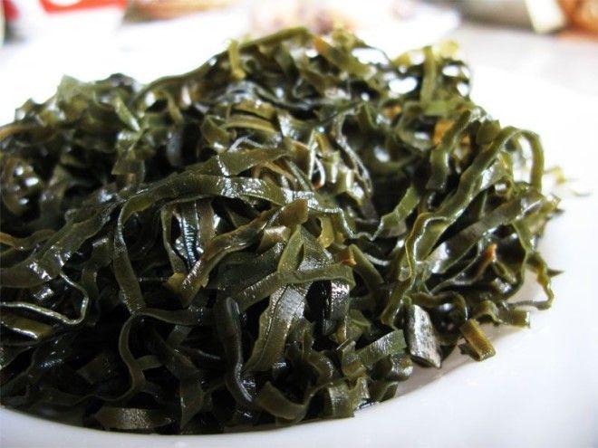 14 Морская капуста и хлорелла выживание еда запас полезная еда продовольствие продукты советы