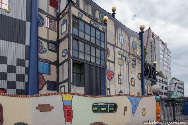 Технологии экологичность и искусство мусоросжигательный завод в Вене