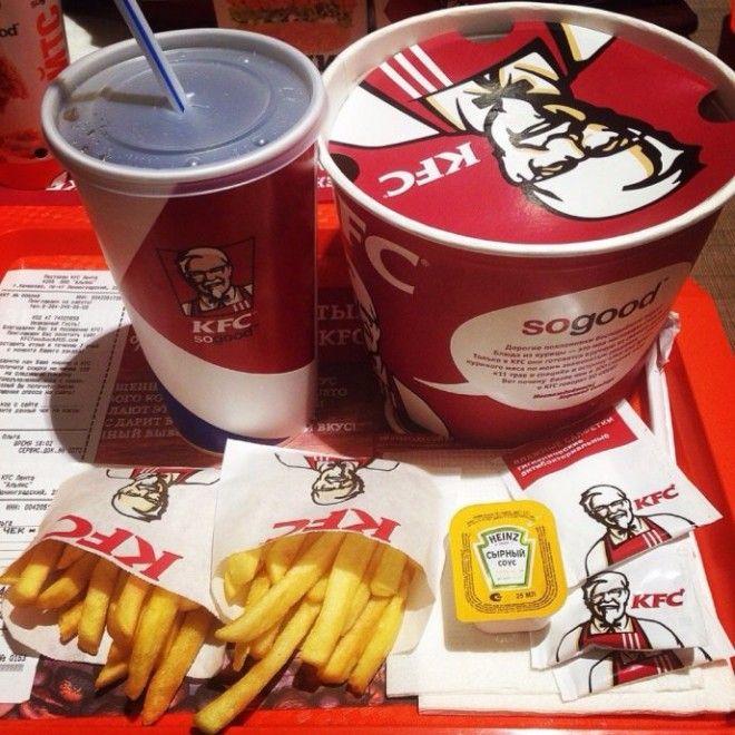7 блюд которые нельзя заказывать в Starbucks KFC и McDonalds