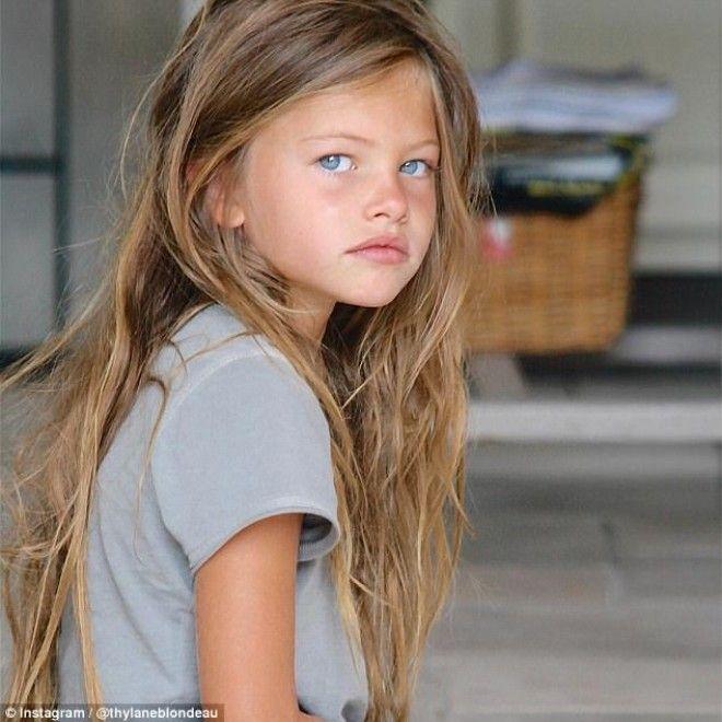 Самая красивая девочка в мире выросла и покоряет подиумы