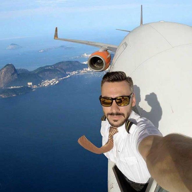 Стоит ли доверять этому провокационному селфи пилота