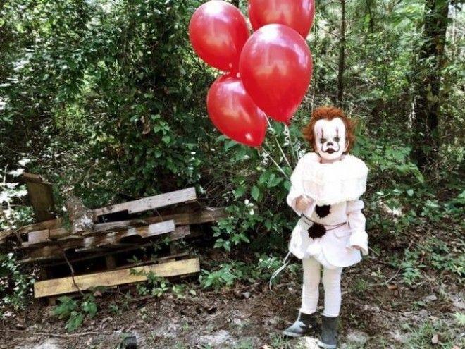 23Эти фото 3летнего мальчика в образе клоуна станут вашим ночным кошмаром