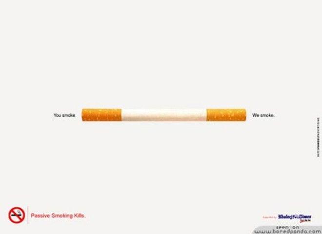 15 примеров мощной антитабачной рекламы После нее хочется бросить курить