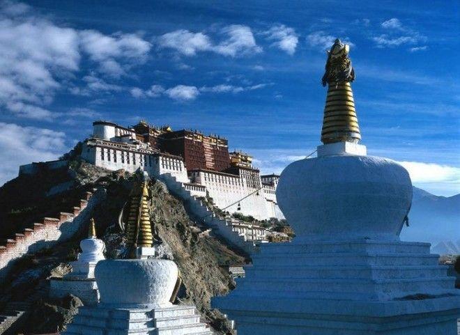 10 фотографий Тибета удивительно красивого участка в Азии