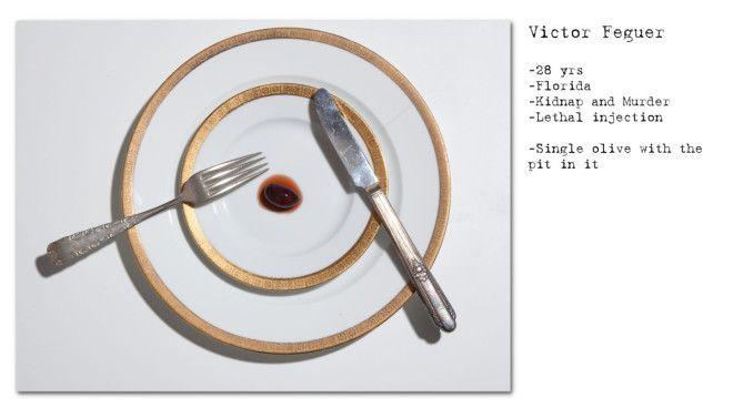 Ужин ценою в жизнь. Последние блюда приговоренных смертников