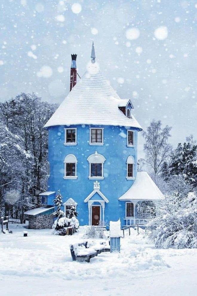Moomin House In Naantali Finland
