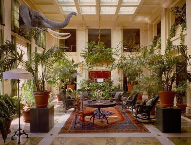 Conservatory Of The George Eastman House In Rochester US