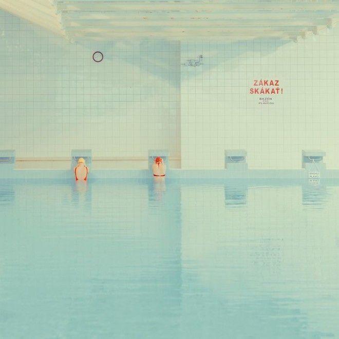 Malina Swimming Pool In Bratislava Slovakia