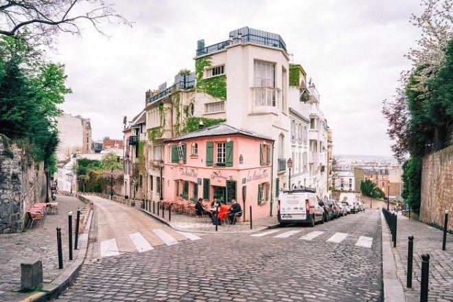 Один из самых живописных романтичных и атмосферных кварталов Парижа