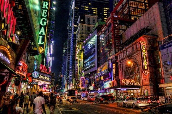 Самая длинная улица НьюЙорка протянувшаяся через весь Манхэттен Бронкс и далее на север через небольшие городки до столицы штата НьюЙорк г Олбани