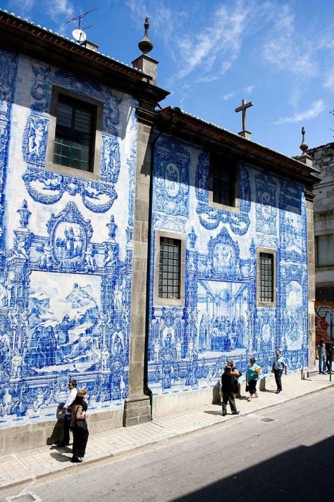 Город Азулехос выставил на всеобщее обозрение самое красивое превратив улицу в произведение искусства