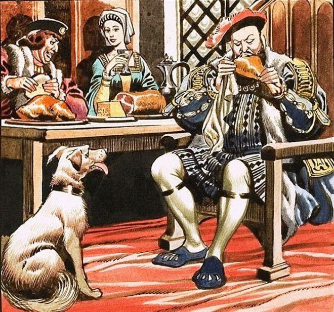 Прожорливость английского короля Генриха VIII Фото s3euwest1amazonawscom