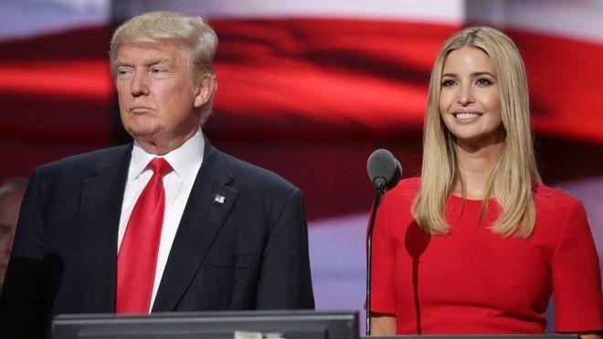 3 Дональд и Иванка Трамп дочки звезды отцы топ