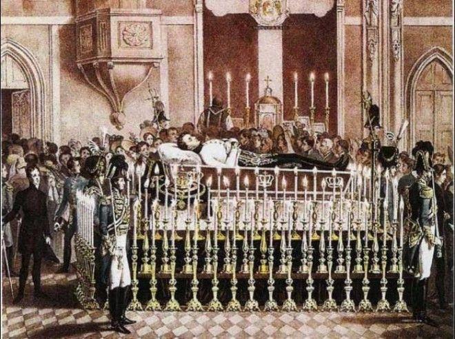 Ночное бдение у гроба Франца Рейхштадтского 1832 Фото historyparadoxru