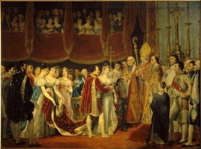 Свадьба Наполеона I с эрцгерцогиней МариейЛуизой 2 апреля 1810 г Фото liveinternetru
