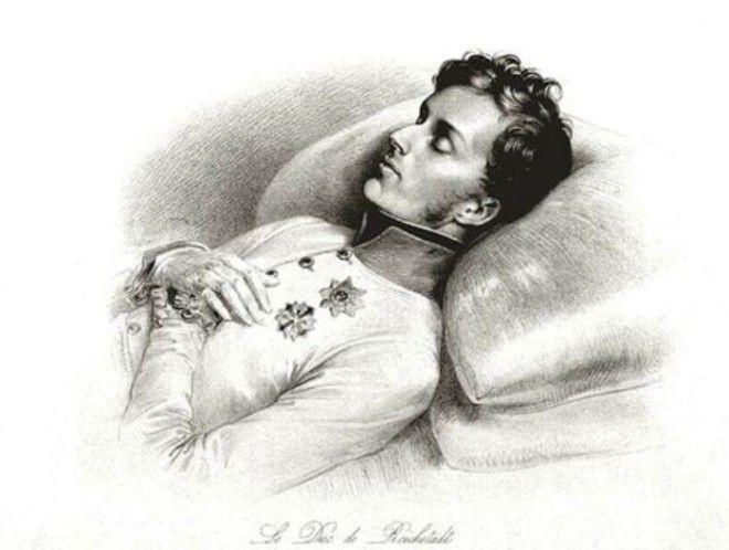 Орленок Наполеон Франсуа Жозеф на смертном одре Фото liveinternetru