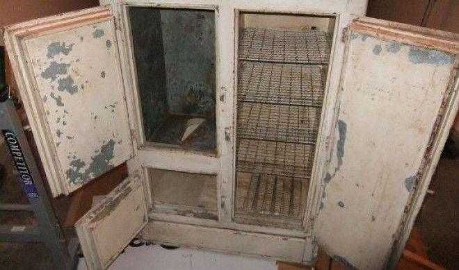 Один из первых холодильников эдвардианской эпохи