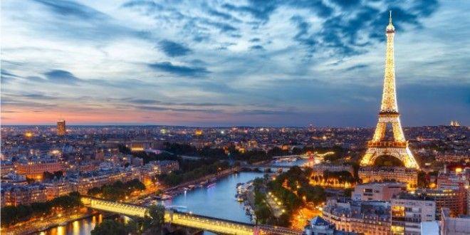 Отдых в октябре Париж Франция