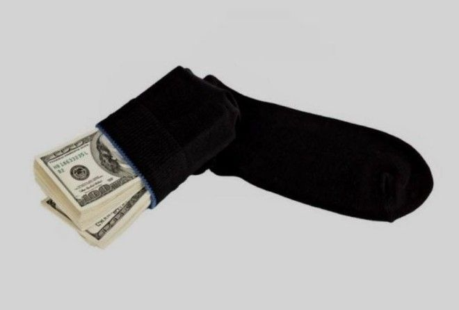 10 самых необычных мест где люди прятали деньги