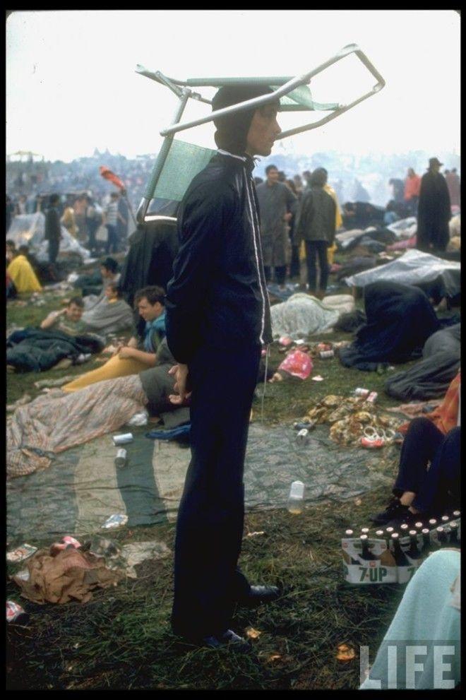 80 уникальных фотографий Вудсток 1969 года на снимках журнала LIFE