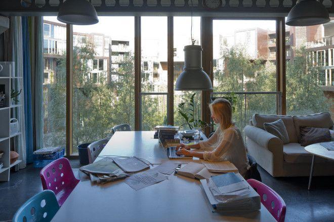 Пример современного общежития из Капенгагена