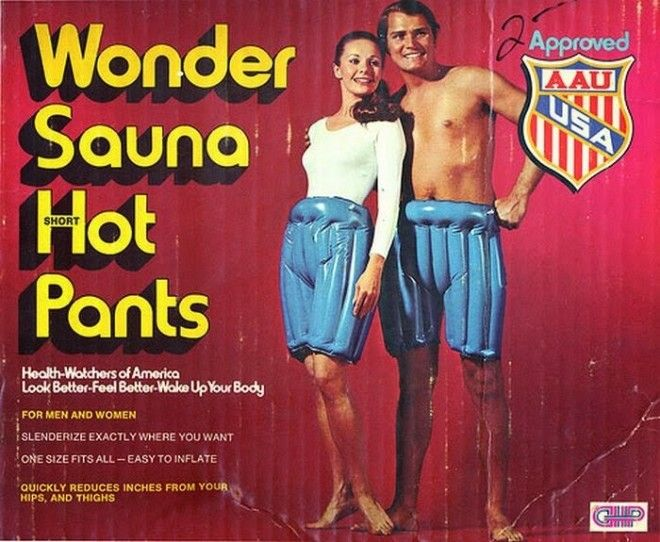 Надувные штаны-сауна: надел - и худей! бред изобретателя, ненужное, оригинально, смешно, странные вещи, странные люди, товар, юмор