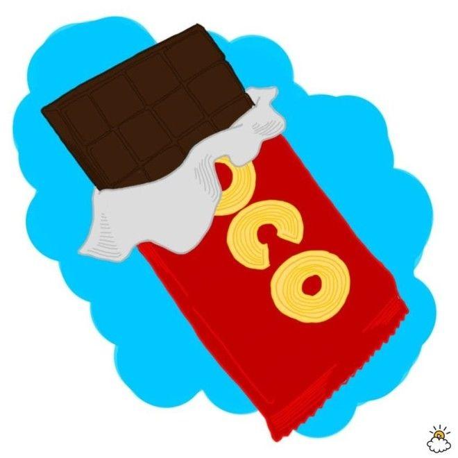 1 Шоколад Ночной дожор бессонница ночной дожор перекус продукты советы советы бывалых