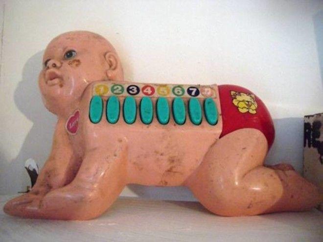 17. Ребенок-баян Смешно и грустно, детские, игрушки, ленивые производители, ужасные игрушки, фото