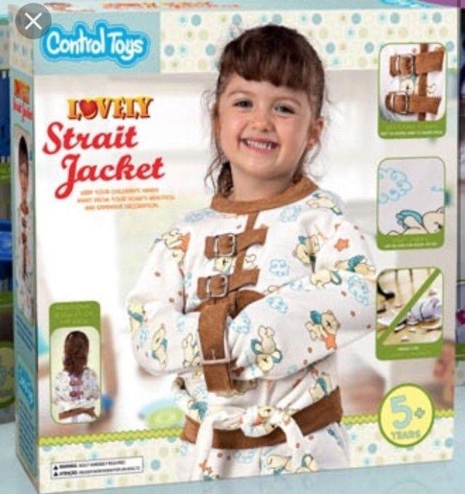 12. На случай очень активного поведения Смешно и грустно, детские, игрушки, ленивые производители, ужасные игрушки, фото