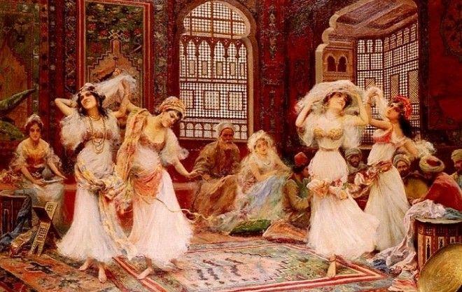 Восточные князья сами продавали дочерей в гарем