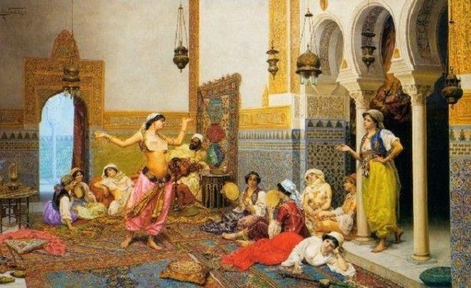 2223Востокдело тонкое как девушки мечтали попасть в гарем к султану