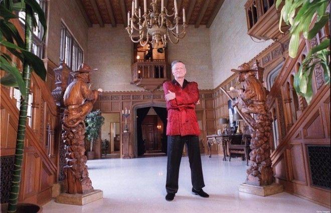 Хью Хефнер приобрел особняк за 1 миллион доларов