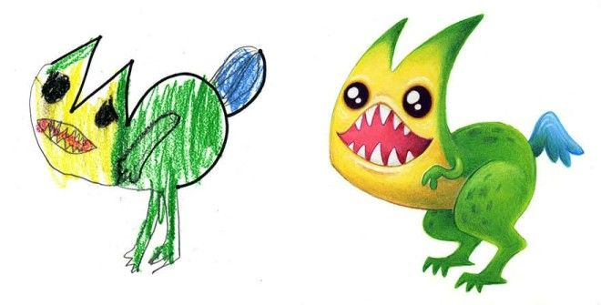 I Spent The Summer Drawing 150 Pieces Of Monster Art Based On Designs Submitted By Kids