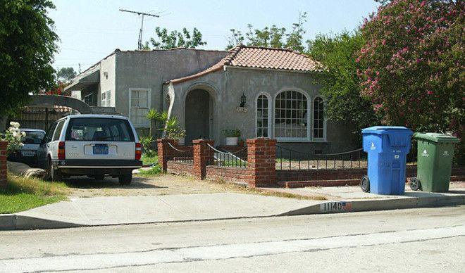 Дом в котором Сабрина провела свои последние годы