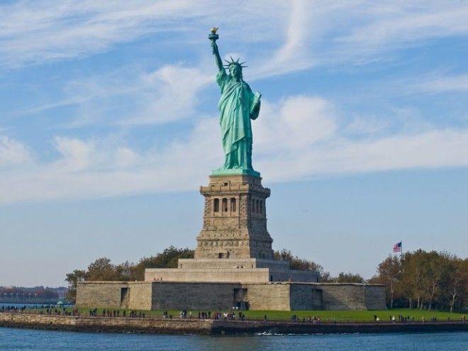 Вот что на самом деле находится в голове у статуи Свободы в США