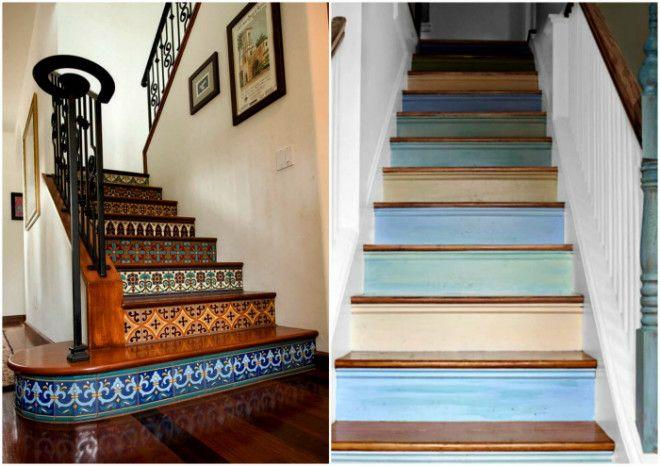 Идеи декора лестницы