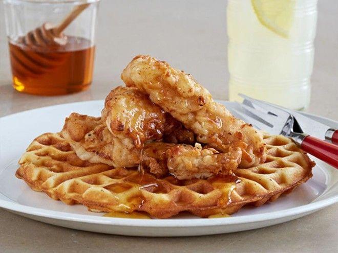 Картинки по запросу chicken and waffles recipe