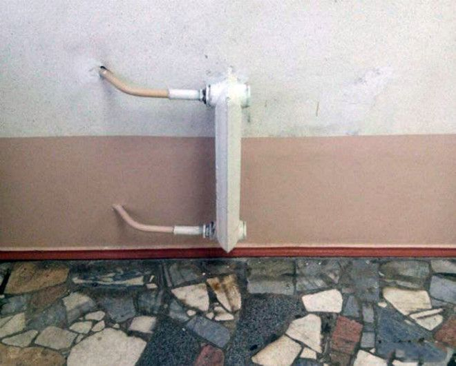 Минималистичный радиатор