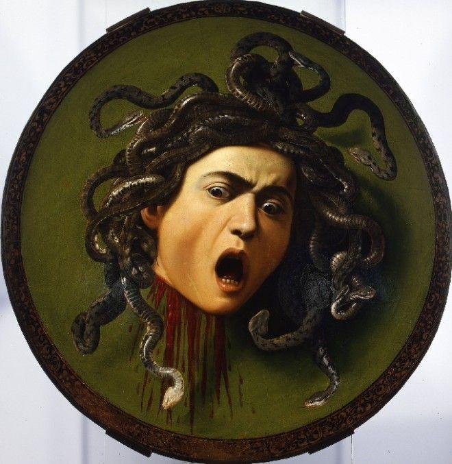 Голова Медузы Горгоны 15971598 Автор Микеланджело Караваджо