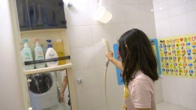 Уборка ванной Элементарно ванная ванная комната дизайн для дома необычно познавательно удобства япония японцы