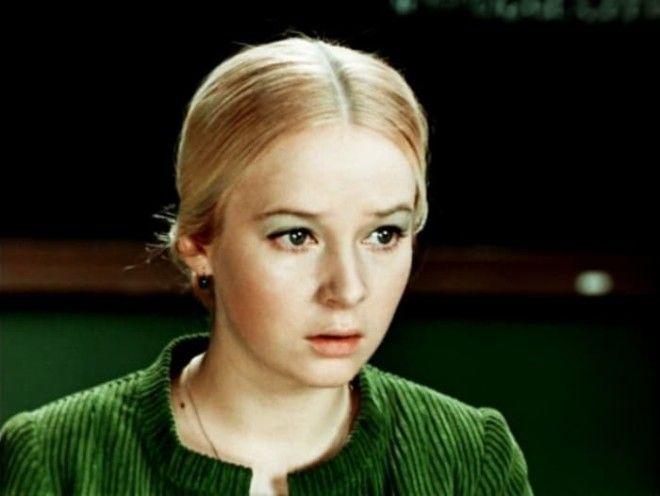 Наталья Богунова в фильме Большая перемена 19721973 Фото kinoteatrru