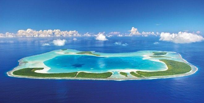 Bастный остров Марлона Брандо во Французской Полинезиикоторый тебя поразит