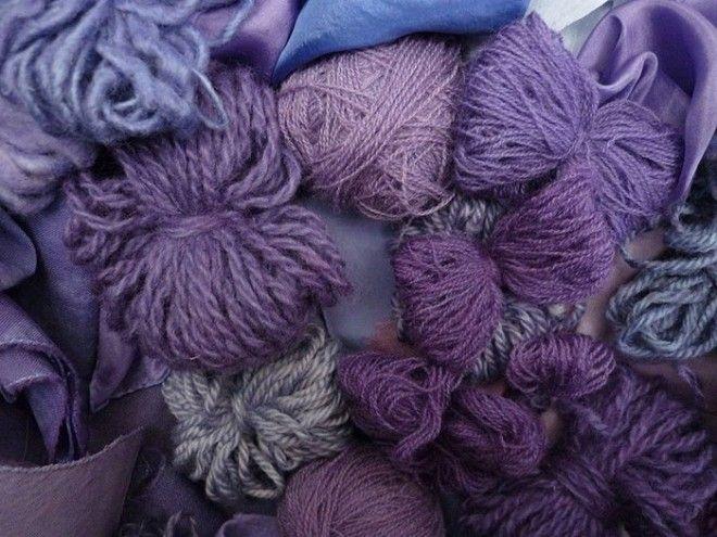 Стараниями химиков фиолетовая ткань стала доступной массам