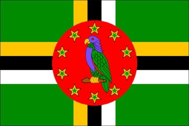 Флаг Содружества Доминика
