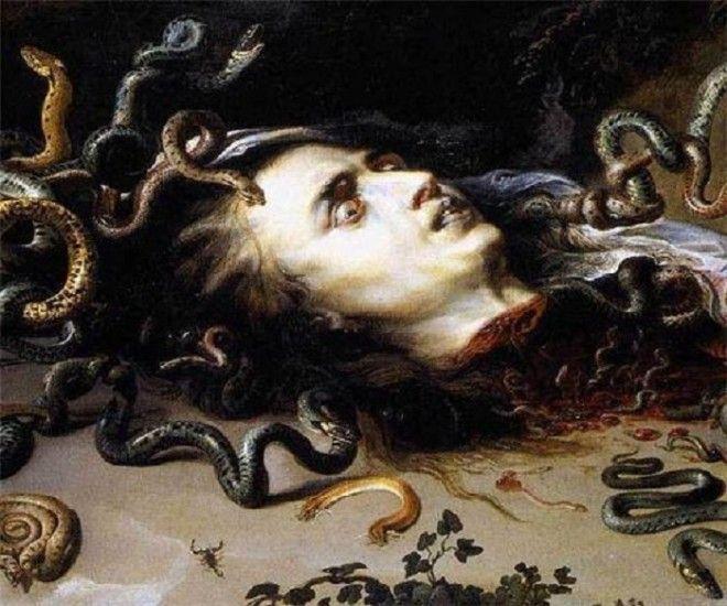 Голова горгоны Медузы 16171618 Автор Питер Пауль Рубенс
