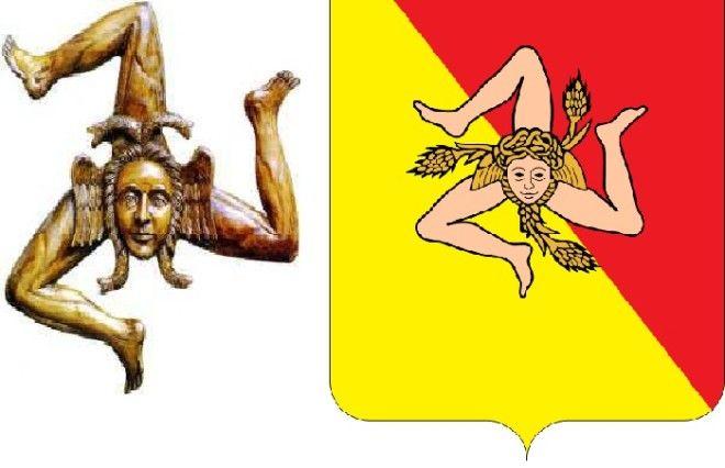Эмблема острова Сицилия