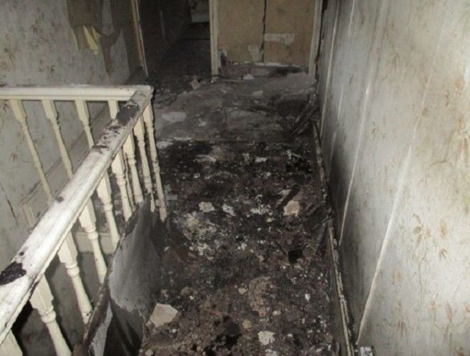 Так выглядел дом до ремонта