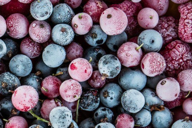 Сохраняют ли замороженные продукты полезные питательные вещества