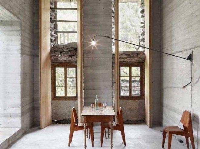 Интерьер выполнен в минималистском стиле